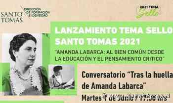 Santo Tomás realiza conversatorio sobre Amanda Labarca - Diario Futrono