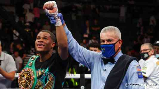 Devin Haney overcomes adversity to secure unanimous decision win over Jorge Linares in WBC lightweight title defense - DAZN News US