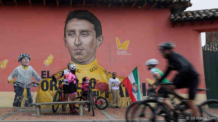 Zipaquirá, una fiesta rosa por Egan Bernal - Marca Claro Colombia
