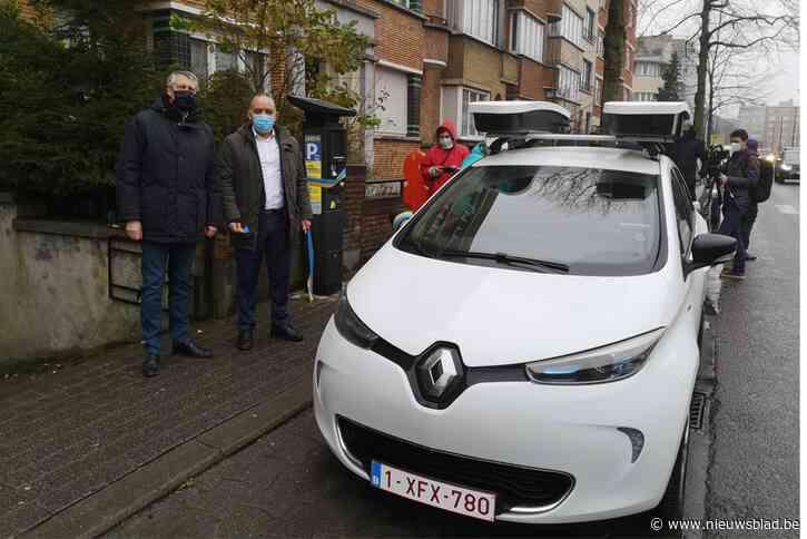Ook in Molenbeek controleren scanvoertuigen geparkeerde wagens