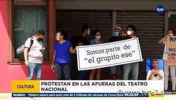 Artistas nacionales protestan por cierre de Teatro Balboa - TVN Panamá