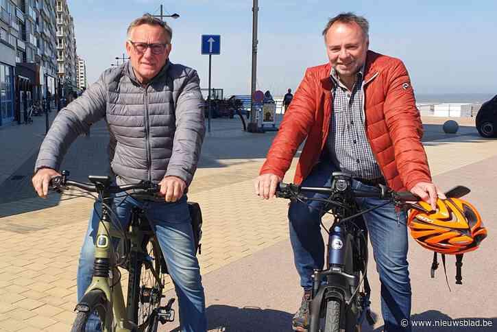 """Middelkerke verbiedt vier maanden lang fietsers op de zeedijk: """"Zo creëer je een hindernissenparcours"""""""