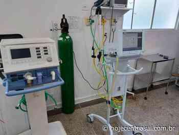 Pronto Atendimento de Imbituva recebe respiradores para tratamento da Covid-19 | Hoje Centro Sul - Hoje Centro Sul