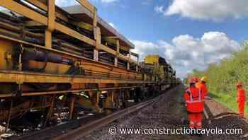 Remise en service de la ligne Laroche-Migennes/Auxerre - Construction Cayola