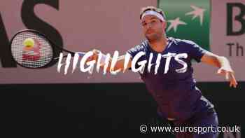 French Open 2021 tennis - Highlights: Grigor Dimitrov retires from opening match as Marcos Giron progresses - Eurosport.co.uk
