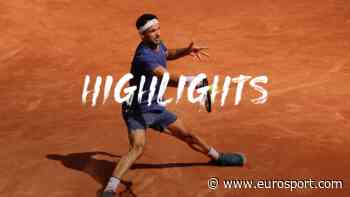 French Open Highlights: Grigor Dimitrov gets to brink of victory, retires injured - Eurosport.com