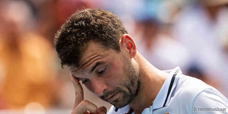 Grigor Dimitrov retires from first round match at French Open - Tennishead