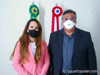 Thaiza Hortegal reúne-se com governador e discute demandas de Chapadinha - O Quarto Poder