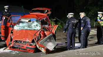 Remscheid: Autofahrer bei Unfall lebensgefährlich verletzt - rga-online.de