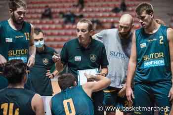 La Sutor Montegranaro pronta per Gara 1. Coach Ciarpella ''Vogliamo tornare da Mestre con una vittoria'' - Serie B Playout Girone C - Basketmarche.it