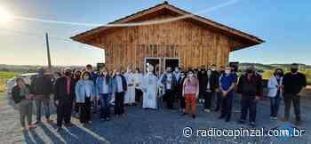Capela Nossa Senhora das Graças é inaugurada na comunidade de Nova Zortéa - Rádio Capinzal