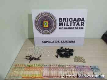 Brigada Militar prende duas mulheres por tráfico de drogas em Capela de Santana - Jornal VS