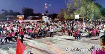 Gran cierre de campaña de Javier Ibarra en el Tinaco - Opinión Sonora