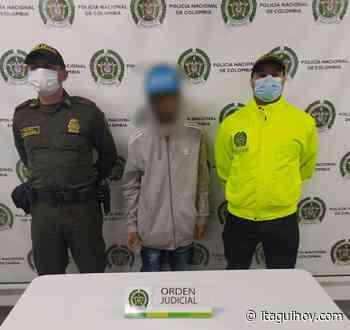 """Capturan a alias """"Marra"""", integrante del grupo delincuencial """"La Unión"""" - Itagüí Hoy"""