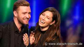 Jessica Biel & Justin Timberlake – Endlich neue Aufnahmen von Sohn Silas – und die sind zum Schießen! - klatsch-tratsch.de