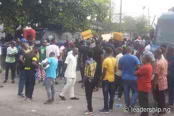 NDDC: Ijaw Youths Protest In Uyo, An Invitation To Violence – Group - LEADERSHIP NEWS