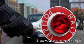 Polizei stoppt Fahrer in Marpingen: Zugedröhnt hinterm Steuer erwischt - Saarbrücker Zeitung