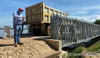 Realizaron prueba de carga en el puente El Chorro de Magangué - Caracol Radio