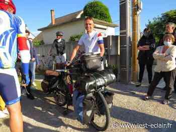 VIDÉO. Romilly-sur-Seine : Pascal Berthier en route pour son tour du monde à vélo - L'Est Eclair