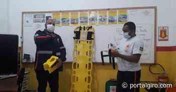 Em campanha pelo Maio Amarelo, SAMU de Areal realiza palestra em Auto Escola - Portal GIRO