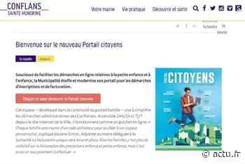 Conflans-Sainte-Honorine. Un portail citoyens pour faciliter les démarches des familles - La Gazette du Val d'Oise - L'Echo Régional