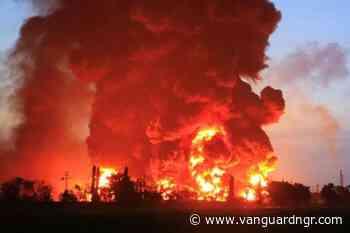 Breaking: Fire guts Mokland Hotel, Ikeja - Vanguard