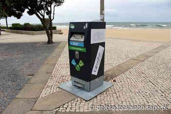 Praias de Espinho com papeleiras inovadoras | Defesa de Espinho - Diário Digital