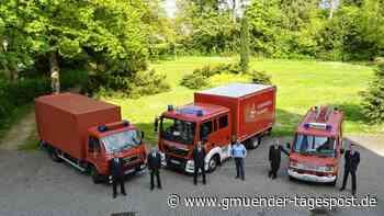 Feuerwehr Alfdorf mit neuem Gerätewagen-Transport ausgestattet   Lorch - Gmünder Tagespost