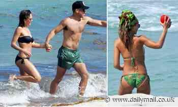 Jessica Alba celebrates Honest Company's IPO with husband Cash Warren in Miami - Daily Mail