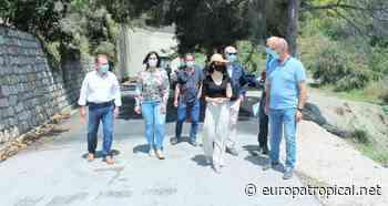 Finalizan los trabajos de mejora de asfaltado de la Cota 100 en Salobreña - Europatropical