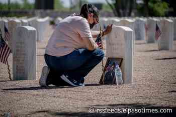 El Pasoans honor loved ones during Memorial Day ceremony at Fort Bliss National Cemetery