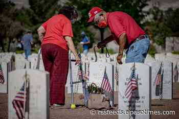 El Pasoans honor loved ones during Memorial Day at the Fort Bliss National Cemetery