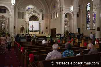 Catholic Diocese of El Paso: Churches will open at 100 percent starting Tuesday