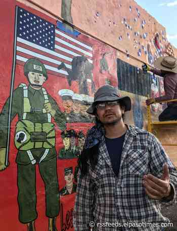El Paso mural honors deported immigrants who served in US military