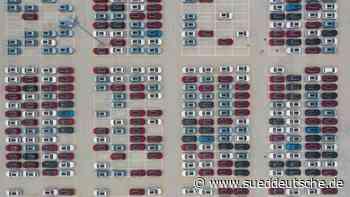Studie: Globale Autoindustrie schon über dem Vorkrisenniveau - Süddeutsche Zeitung