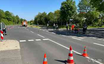 L493 Rheinbach Unfall: Traktor verliert 2000 Liter Pflanzenschutzmittel - General-Anzeiger Bonn
