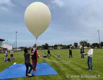 Vidéo. Parentis-en-Born : un collégien lance un ballon-sonde à 31 kilomètres au-dessus du sol - Sud Ouest