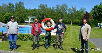 In Steinheim starten die Freibadfans wieder in die Saison - Neue Westfälische