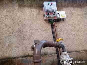 Prefeitura Municipal de Areal inicia abastecimento de água no bairro Cedro - Portal GIRO