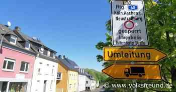 der Ausbau der Kölner Straße in Bitburg - Trierischer Volksfreund