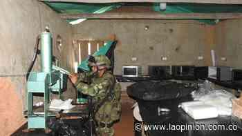 Destruyen un complejo de cocaína en zona rural de Tibú | Noticias de Norte de Santander, Colombia y el mundo - La Opinión Cúcuta