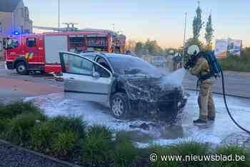 VIDEO. Auto vliegt in brand in Hoeselt