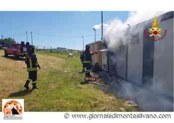 Incendio a Pianella a un impianto fotovoltaico - Giornale di Montesilvano