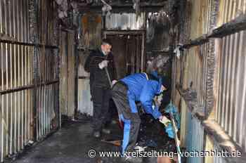 Polizei ermittelt gegen mehrere Bewohner: Brand in Buxtehuder Flüchlingsunterkunft wurde gelegt - Kreiszeitung Wochenblatt