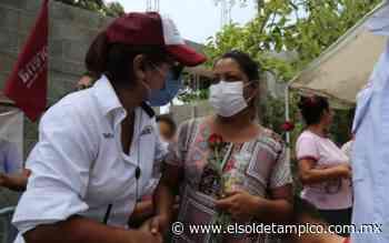 Valeria Nieto presenta propuestas al electorado en Pueblo Viejo - El Sol de Tampico