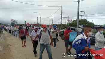 Chazuta exige rehabilitar su carretera - DIARIO AHORA