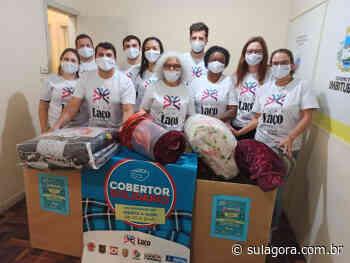 """Campanha do """"Cobertor Solidário"""" ganha força em Imbituba - Sul. Agora"""