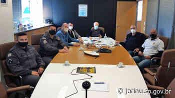 Prefeitura de Jarinu inicia conversas com setor privado para monitoramento inteligente por câmeras - Prefeitura Municipal de Jarinu