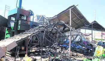 Huancayo: fuegos artificiales de fiesta patronal provocan incendio en almacén de reciclaje - Panamericana Televisión