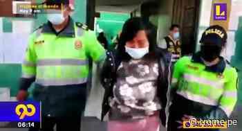 Huancayo: Detienen a mujer que golpeó salvajemente a su bebita de un año - Diario Trome